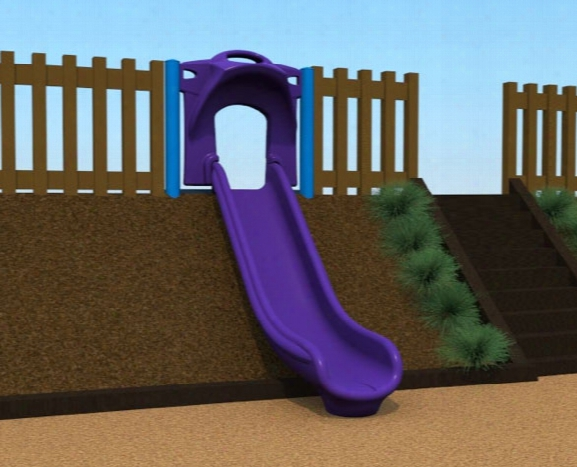Single Hillside Velocity Slide 4 Foot