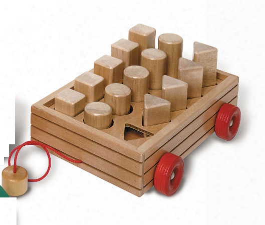 Size And Shape Wagon Of Blocks
