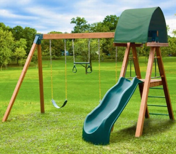 .southern Deluxe Heavy Duty Wooden Swing Set - Adult Rated