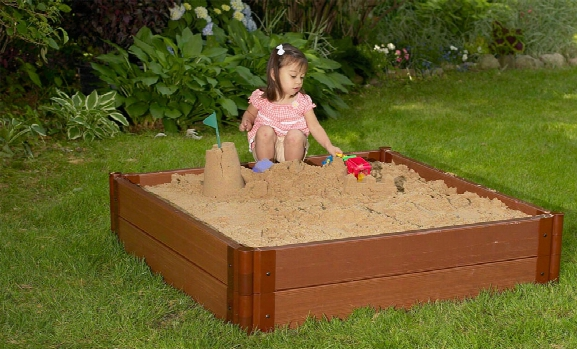Square Sandbox - 4 X 4 X 11 Inch High