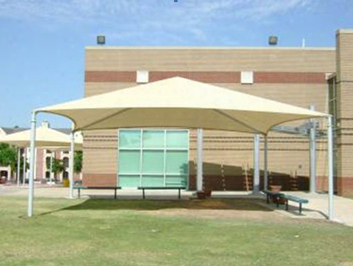 Stand Alone Shade Structure 20 Foot X 30 Foot Hip