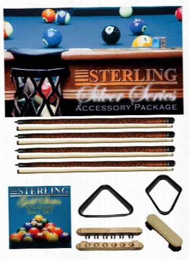 Sterling Billiards Silver Series Accessory Package