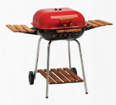 Swinger Charcoal Grill - Red