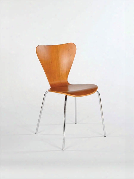Talon Laminated Wood Stacking Chair Set Of 4