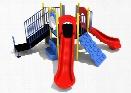 Costa Mesa Playground - 3.5 Inch Posts