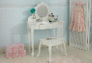Medium Diva Vanity Table and Stool