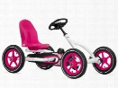 Pink Buddy Pedal Go Kart