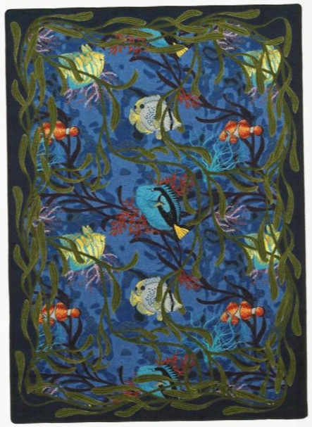 Under The Sea Rug - 10.75 X 13.2 Foot Rectangle