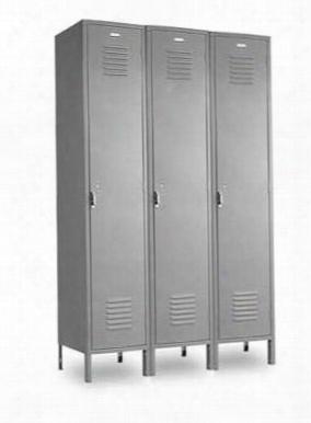 Vanguard 1 Tier Locker 12 X 15 X 60 Per Locker - Gray