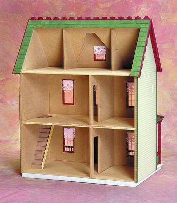 Vermont Farmhouse Jr. Doll House Kit