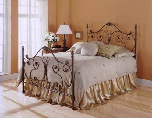 Aynsley Bed With Majestique Finish - Full