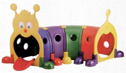 Climb-n-crawl Caterpillar 4-section Play Tunnel