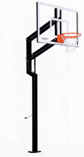 Contender Residential Basketball System - Adjustable Acrylic