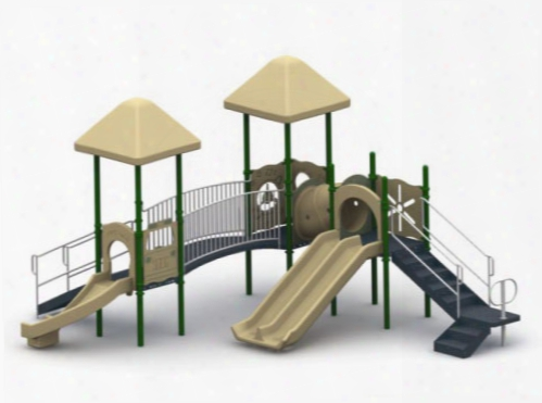 Double Fun Play System - 3.5 Inch Posts