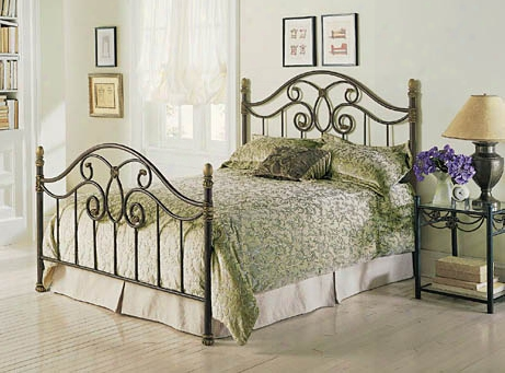 Dynasty Bed Autumn Brown - Full