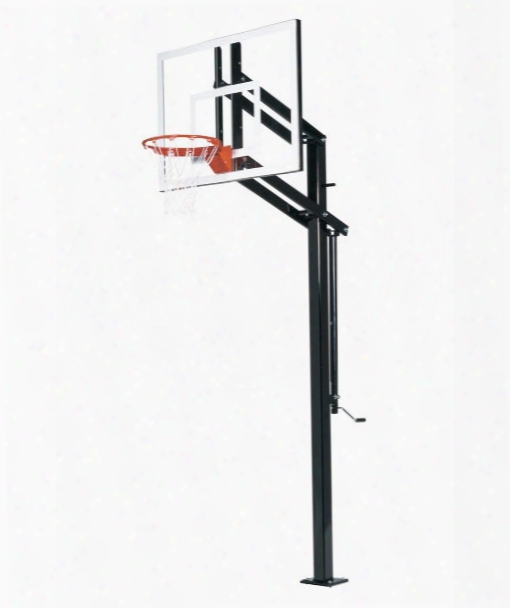 Extreme X448 Basketball System - Adjustable Glass