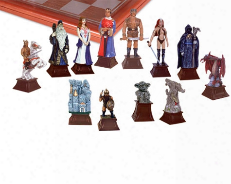 Good Vs Evil Chess Set