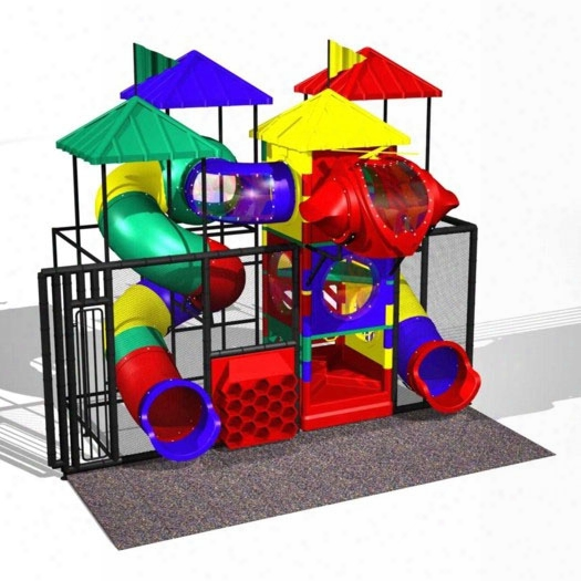 Junior 300 Soft Contained Playground