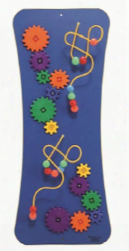 Loco-motion Wires Beads And Gears Panel