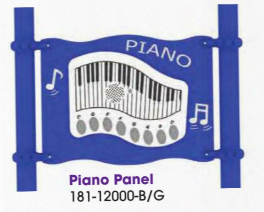 Piano Panel Stand Alone Play Equipment