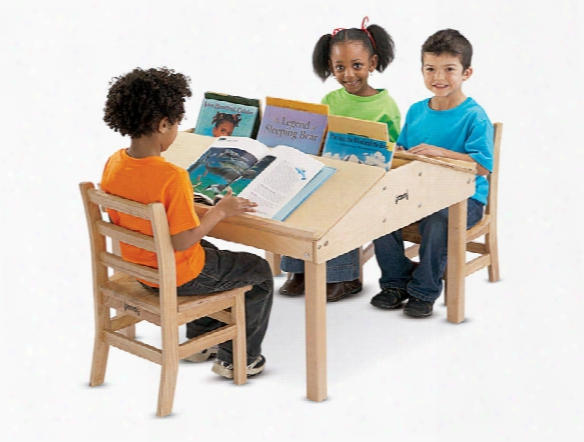 Quad Tablet And Reading Table - 20.5 High