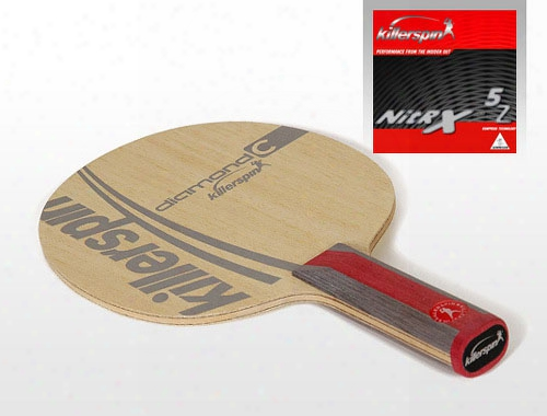 Rtg-diamond C Professional Table Tennis Racket