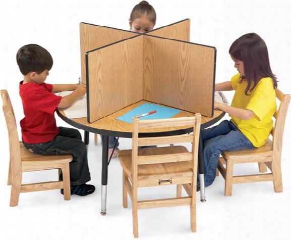 Study Carrel - Fits Tables 36 X 36
