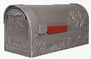 Hummingbird Cast Aluminum Mailbox