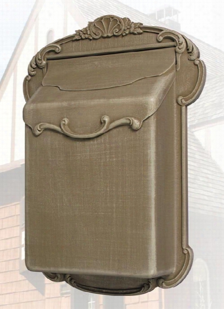 Victoria Vertical Residential Mailbox With Newspaper Scrolls