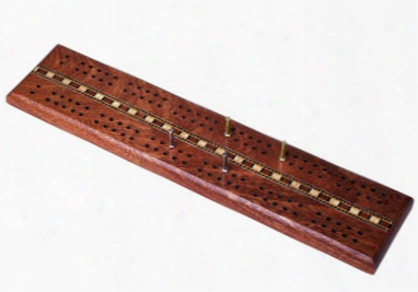Wooden Double Track Cribbage Set