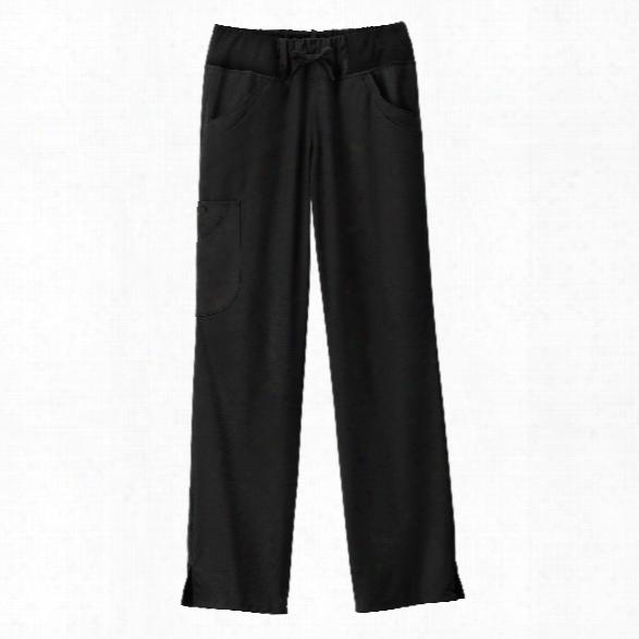 Bio Stretch Performance Pure Comfort Scrub Pant - Black - Female - Women's Scrubs