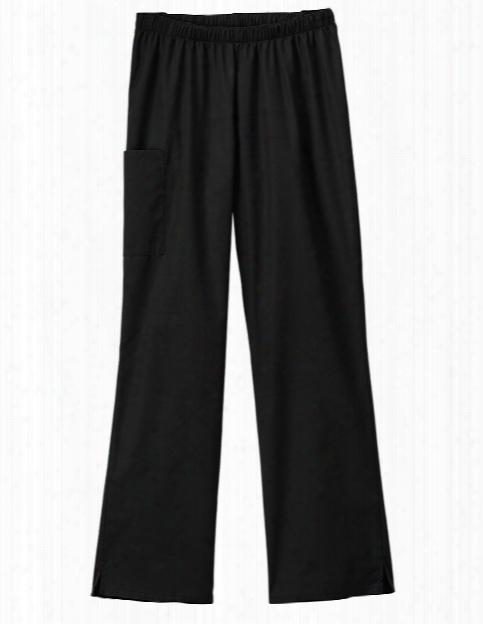 Fundamentals Cargo Pant - Black - Female - Women's Scrubs