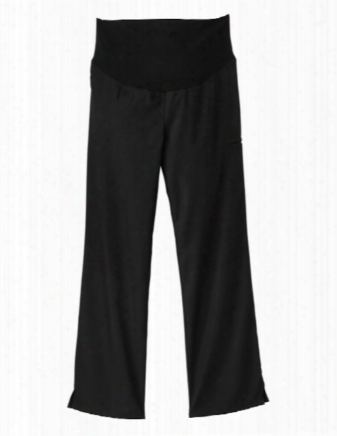 Fundamentals Maternity Scrub Pant - Black - Female - Women's Scrubs