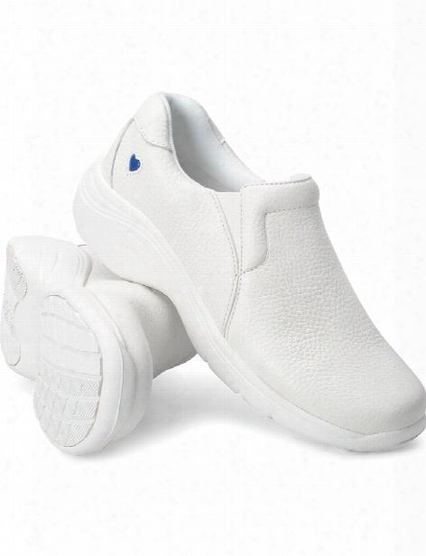 Nurse Mates Dove Shoe - White - Female - Women's Scrubs