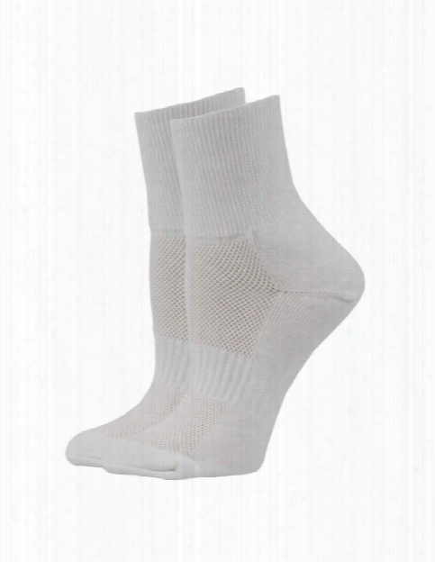 Think Medical 2 Pack Compression Socks - White - Female - Women's Scrubs