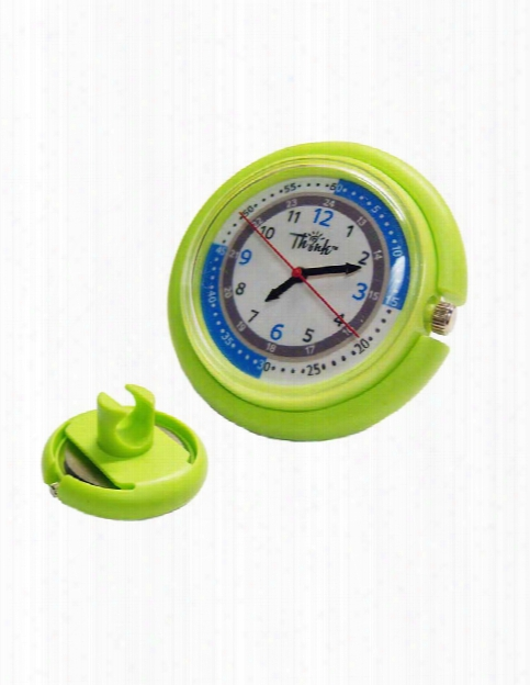 Think Medical Stethoscope Snap Watch - Lime - Unisex - Medical Supplies