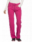 Cherokee Infinity Clearance Antimicrobial Low-Rise Straight Leg Pant - Power Berry - female - Women's Scrubs