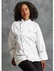 Uncommon Threads Luxembourg Chef Coat - White - unisex - Chefwear