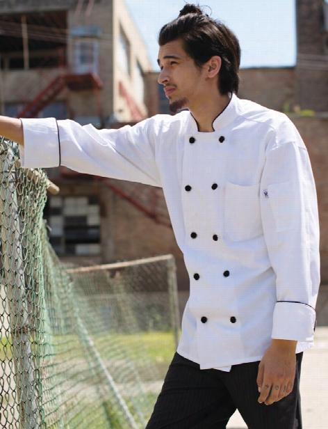 Uncommon Threads Barcelona Chef Coat - White - Unisex - Chefwear
