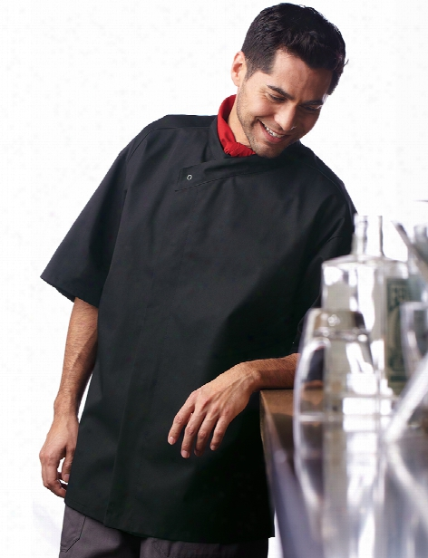 Uncommon Threads Calypso Chef Coat - Black - Unisex - Chefwear