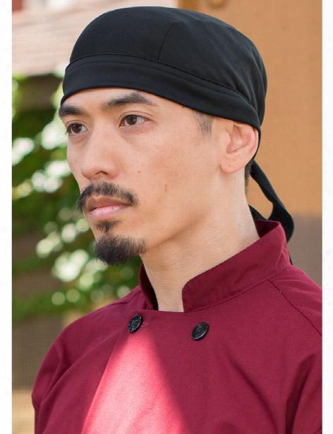 Uncommon Threads Kool Scull Cap - Black - Unisex - Chefwear