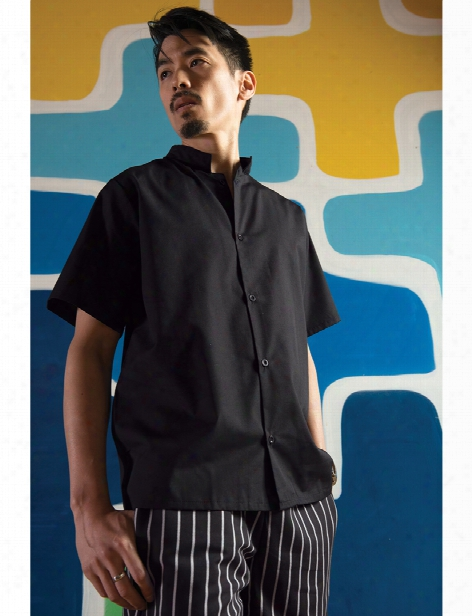 Uncommon Threads Mesh Utility Shirt - Black - Unisex - Chefwear