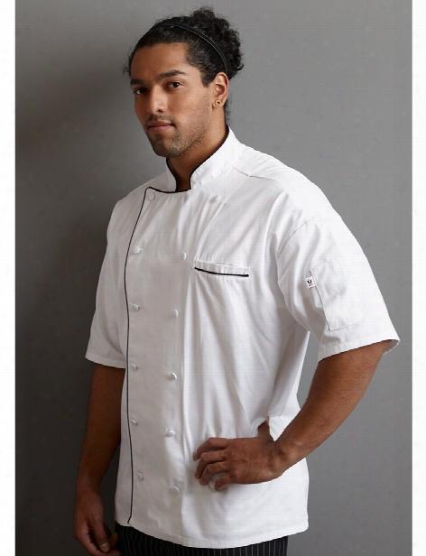 Uncommon Threads Montebello Chef Coat - White - Unisex - Chefwear
