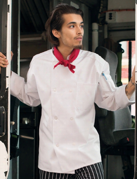 Uncommon Threads Uncommon Chef Coat - White - Unisex - Chefwear