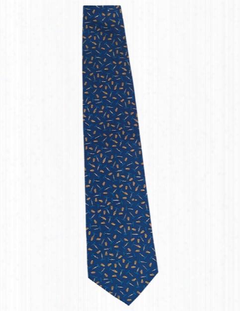 Wolfmark Restaurant Print Neckties - Corkscrew - Unisex - Chefwear
