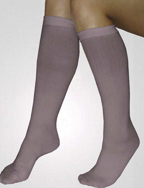 Amps Compression Knee High Stocking - Beige - Female - Women's Scrubs