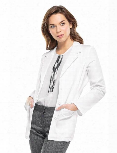 "Cherokee 28"" Lab Coat - White - Female - Women's Scrubs"