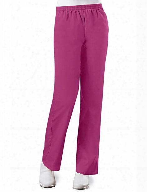 Cherokee Workwear Originals Pull On Scrub Pant - Azalea - Female - Women's Scrubs