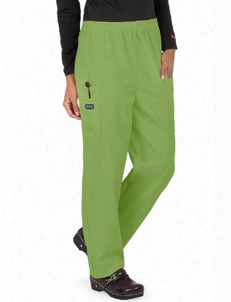 Cherokee Workwear Originals Utility Scrub Pant - Aloe - Female - Women's Scrubs