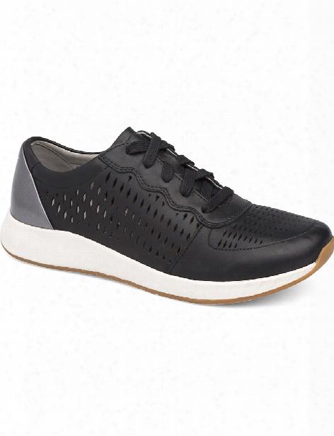 Dansko Coventry Charlie Shoe - Black Leather - Female - Women's Scrubs